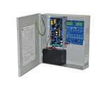 Altronix EFLOW102N16D Power Supply/Charger 120VAC 60Hz 3.5A Input 16 Class 2 Power-Limited PTC Protected Outputs Rated at 2A