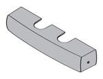 LCN 1460-72DS1 US26 Designer Series Metal Cover