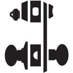 Schlage L9010 SK1 630 L Series Mortise Lock
