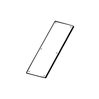 """Don-Jo 72  6"""" x 16"""" Door Push Plate"""