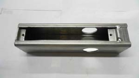 Keedex K-BXA/R-AL Weldable Box for Adams Rite (Aluminum)