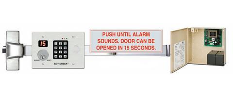 Marks Delayed Egress Rim Device w/ Keyswitch M9900KDE