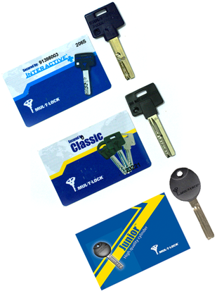 Mul-T-Lock Interactive+ Classic & Junior Key Duplication
