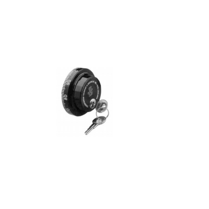 Spy-Proof Dial D550-008 Large Knob Black and White