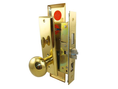 Marks USA 5NY10 Entrance Round Knob New Yorker Mortise Lock for Apartment