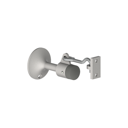 Hager 256W Manual Wall Stop and Holder