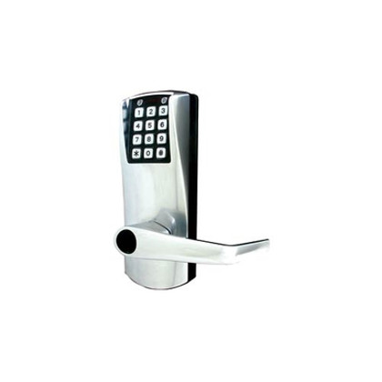 Kaba E-Plex E2000 Series E2032XS-LL Cylindrical, Schlage Key Override Lever 2-3/8'' Electronic Lock