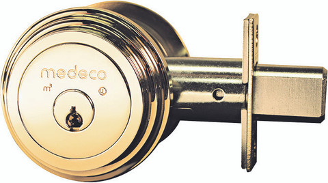 Medeco 11TR633 Maxum Residential Double Cylinder Deadbolt With Captive Key