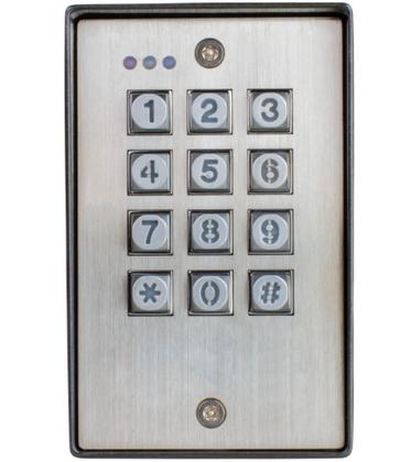 Seco-Larm Enforcer SK-1123-SDQ Vandal Resistant Outdoor Access Control Keypad
