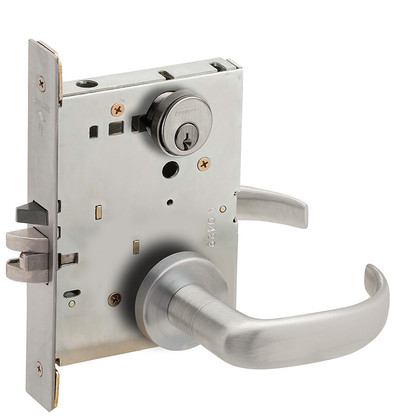 Schlage L9050P 17A 626 Office Mortise Lockset