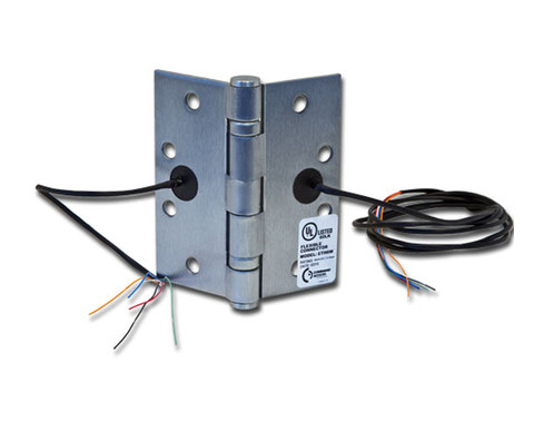 "Command Access ETH2W4545 4.5"" x 4.5"" 2 Wire Energy Transfer Hinge"