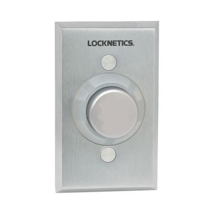 Locknetics by Schlage 621AL DA Heavy Duty Exit Pushbutton