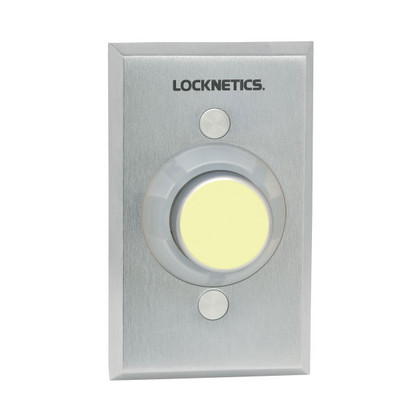 Locknetics by Schlage 621GID-AA-L2/ILL Heavy Duty Exit Pushbutton