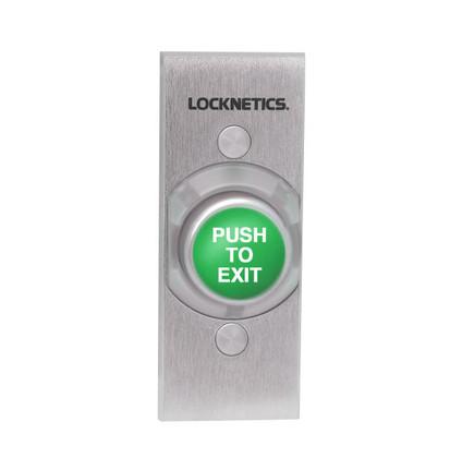 Locknetics by Schlage 621GR-EX-NS Heavy Duty Exit Pushbutton