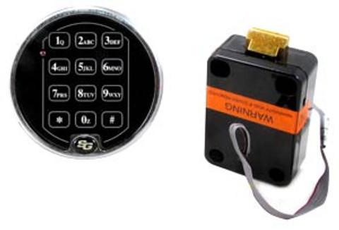 Sargent And Greenleaf 6120-508 Electronic Keypad W/ Spring Bolt Safe Lock