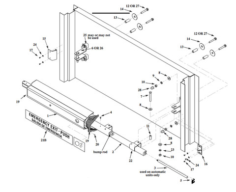 Arm-A-Dor Parts A103-002 RX Switch Kit