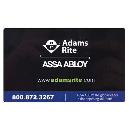 Adams Rite RT-5C-1050 Extra Cards for RT1050D & RT1050L 5/Pack