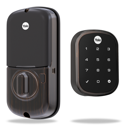 Yale Real Living YRD256-NR-613 Assure Lock SL Key Free Touchscreen Deadbolt