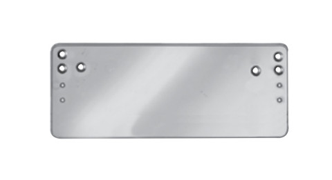 Sargent 1431D-EN Parallel Arm Drop Plate 1431 Series Sprayed Aluminum