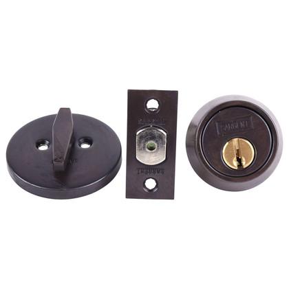 Sargent 475 10B Single Cylinder Deadbolt Adjustable Backset Oil Rubbed Bronze