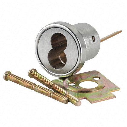 Sargent 6034 32d Lfic Rim Cylinder Housing Satin Stainless
