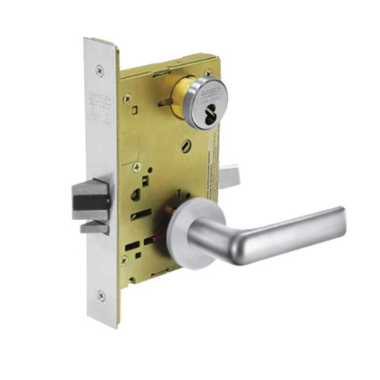 Sargent 60-8237 LNE 26D Classroom Mortise Lock LN Rose E Lever LFIC Prep