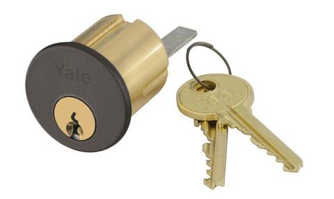 Yale 1109 6 SA 613 0 BITTED Rim Cylinder 6-Pin SA Keyway 0-bitted