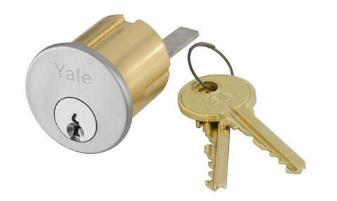Yale 1109 6 SB 625 0 BITTED Rim Cylinder 6-Pin SB Keyway 0-bitted