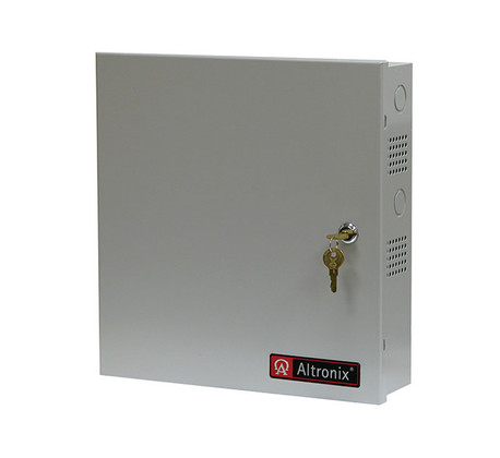 Altronix AL600ULPD4 Power Supply/Charger Input 115VAC 60Hz at 3.5A 4 Fused Outputs 12/24VDC at 6A
