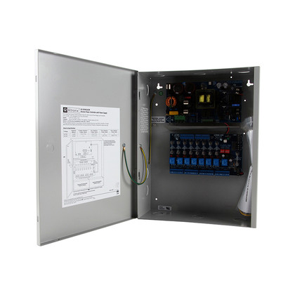 Altronix AL1024ULACM Power Supply/Access Power Controller Input 115VAC 60Hz at 4.2A 8 Fused Outputs 24VDC at 10A