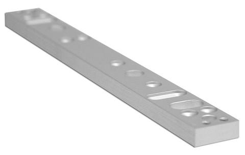 Securitron ASB-V2M600 Aluminum Spacer Bracket VM600 Blade Stop Applications