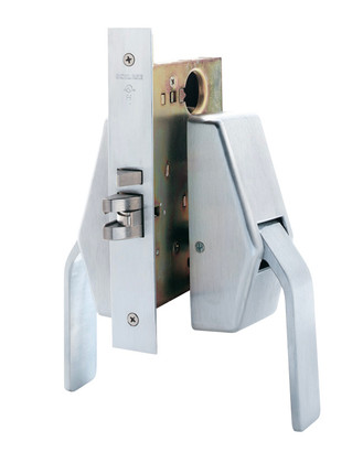 Schlage HL6-9080 626 Push/Pull Mortise Lock