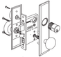 Marks Metro Mortise Lockset 114 Series
