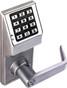 Alarm Lock DL2700-WP-26D Trilogy T2 Push button Lock Weather Proof Satin Chrome