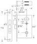 Marks 22 Series 22DW/3 Storeroom Single Cylinder Mortise Lock for Security Door and Storm Door
