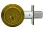 "Medeco M3 11TR603 2-3/8"" Backset Maxum Residential Single Cylinder Deadbolt Antique Brass"