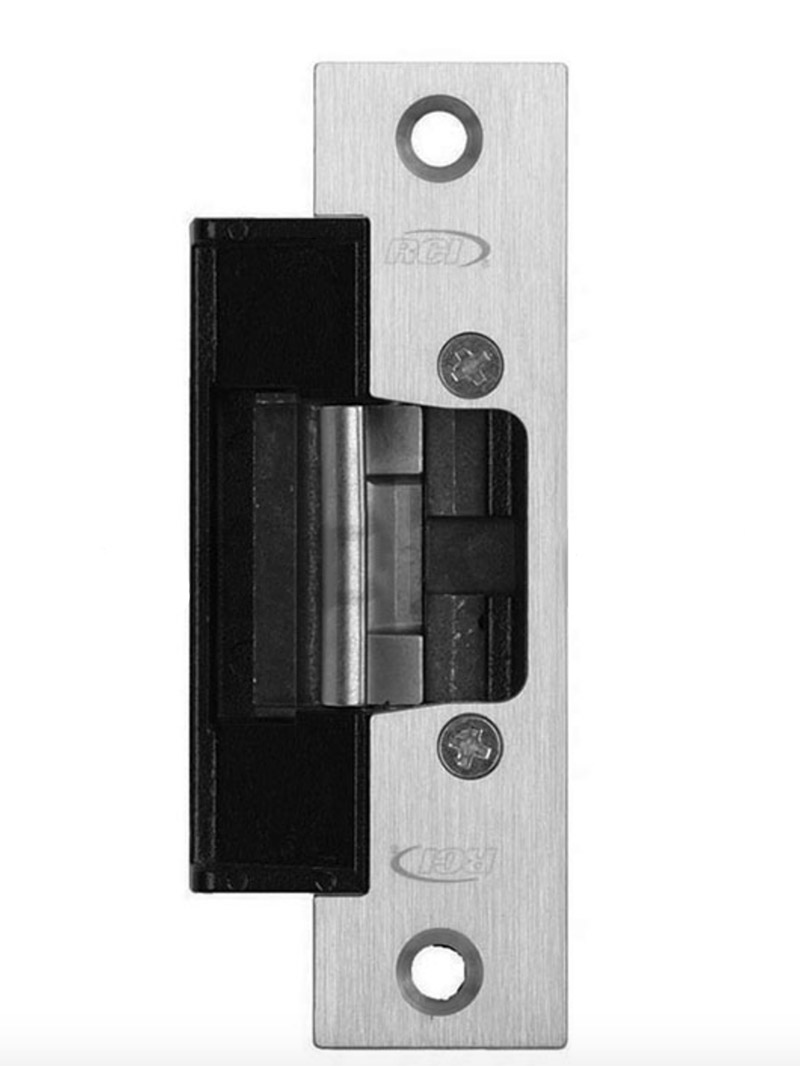 Rutherford Controls AL65 6 Series Low Profile Strike w//o Faceplate