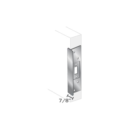Pro-Lok 11 Center Rose Latch Protector Stainless Steel Finish ELP-220-S