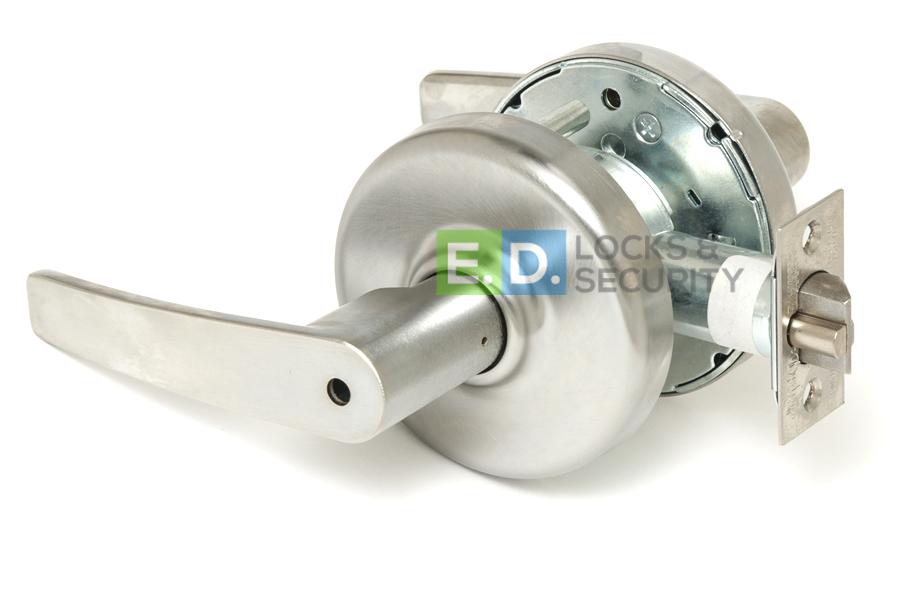 606 Non Handed 2-3//4 Backset Satin Corbin Russwin CL3351-NZD-606-CL6 Grade 1 Entrance//Entry//Office Steel//Zinc//Brass 2-3//4 Backset