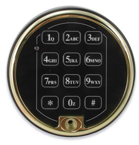 Polished Brass Electronic Keypad for safe New Sargent and Greenleaf S/&G