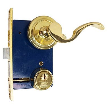 Marks 9225ac Ornamental Iron Lever Mortise Lock For Storm