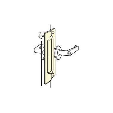 "New DON-JO SLP-206 Satin Door Latch Commercial Grade Lock Protector ~ 6/"" long"