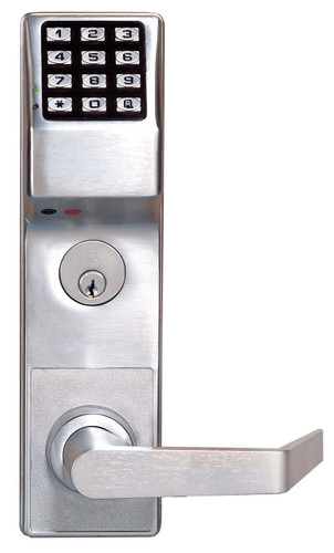 Alarm Lock Dl3500crl Us26d Pushbutton Classroom Mortise