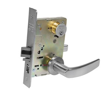 Sargent 8255 Lnb 26d Office Entry Mortise Lock Ln Rose B Lever