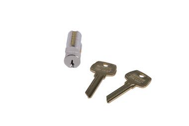 Sargent 6300 Rf 15 Lfic Core Rf Keyway 0 Bitted Satin Nickel