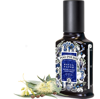 Poo~Pourri™ Royal Flush Before-You-Go® Toilet Spray 2oz. Bottle ~ 100 uses