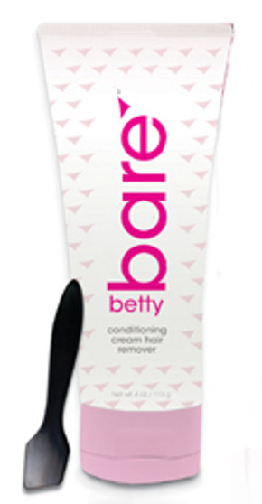 """conditioning body and bikini cream hair remover """"No Bad Smell""""  • Gentle enough to use all over the body!   (faces too!)  • Special conditioners that prevent   ingrown hairs and bumps!  • Natural ingredients leave skin smooth   and silky! No irritations!  • Perfect to use for full Brazilian   bikini hair removal! (No painful waxing!)  • Hygienically-safe to use frequently!  • Ideal for both women AND men!"""