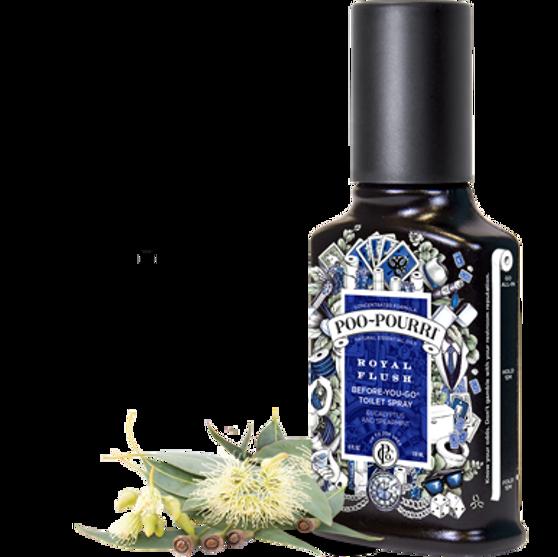 Poo~Pourri™ Royal Flush Before-You-Go® Toilet Spray 2oz. Bottle ~ 100 uses