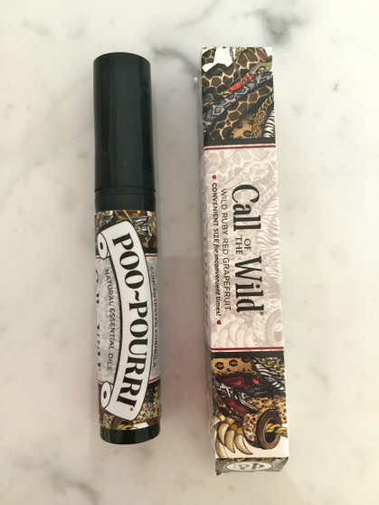 POO~POURRI™ Call of the Wild Before-You-Go® Toliet Spray 4ml. Bottle ~ 3-5 Uses