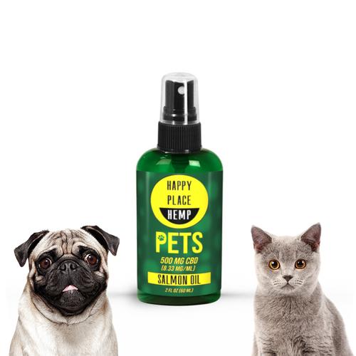 Happy Place Hemp - Pet Tincture - 500 mg - 2 oz
